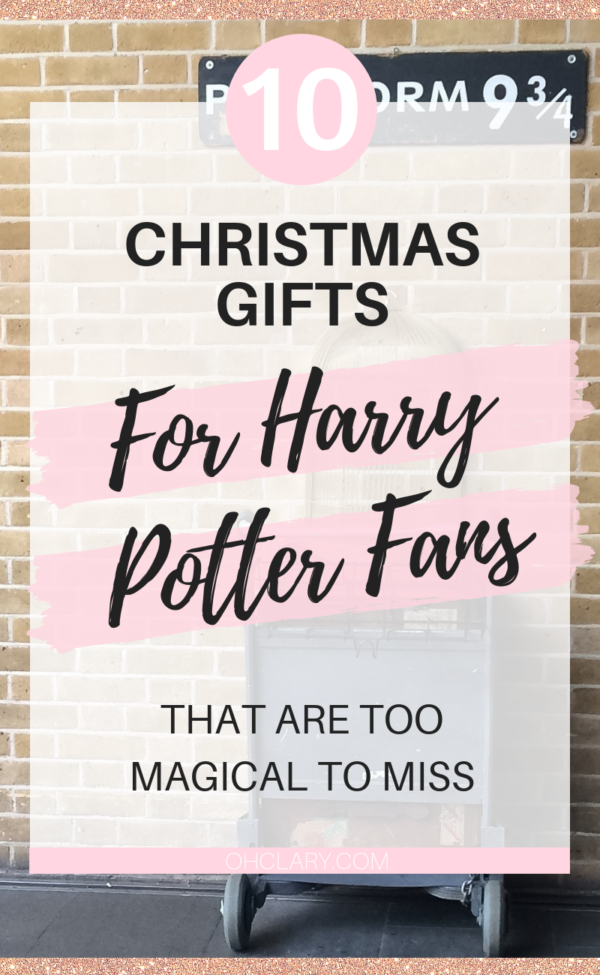 christmas gifts for harry potter fans 3