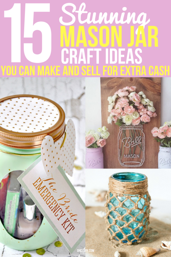 Mason Jar Craft Ideas To Sell 1 Ohclary